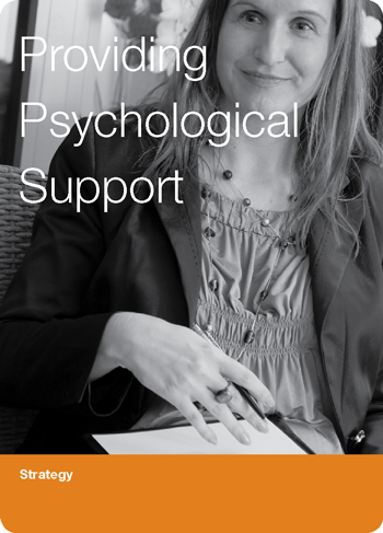 Providing Psychological Support
